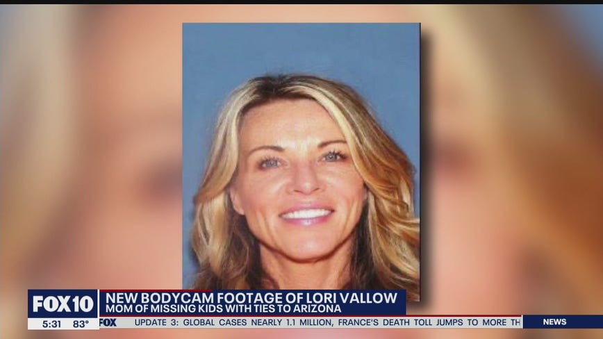 New Bodycam video of Lori Vallow released