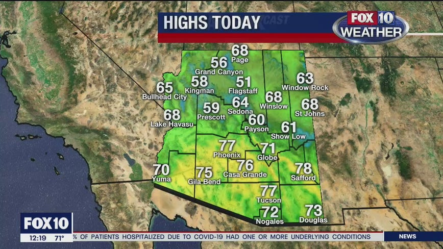 Noon Weather - 4/10/20
