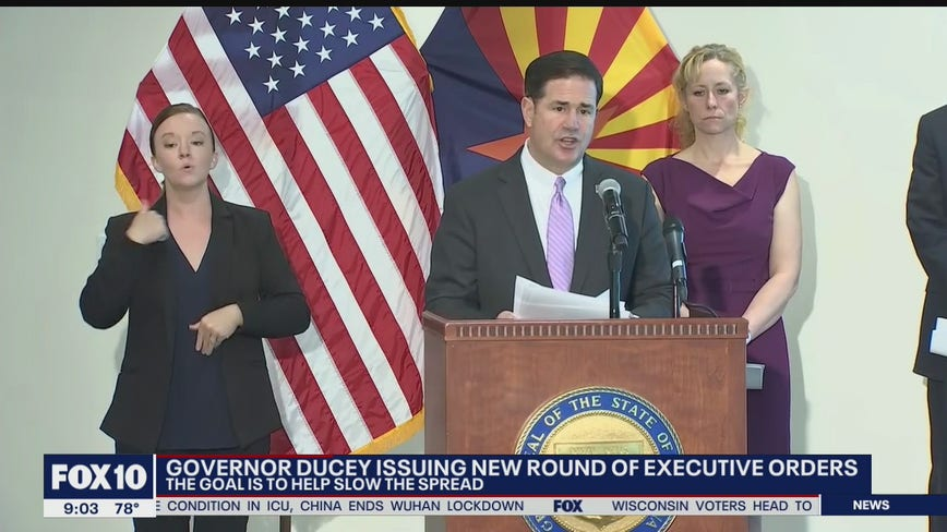 Gov. Ducey requiring visitors from New York to quarantine in new executive order
