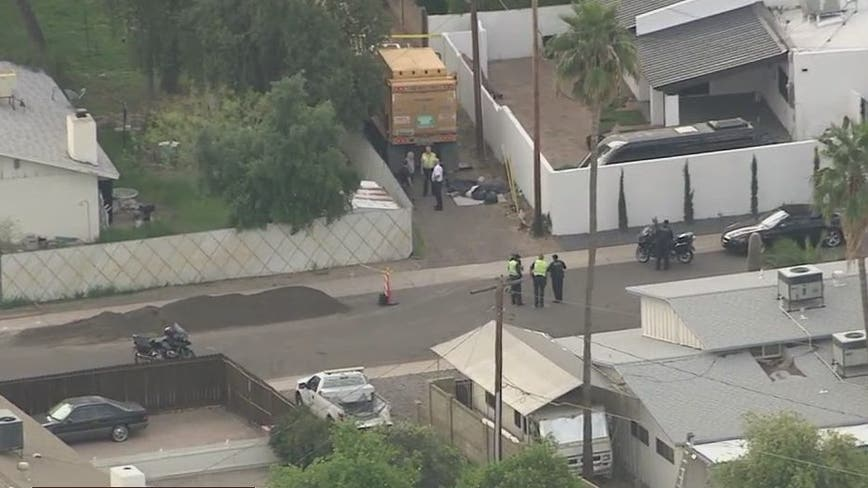 Scottsdale police investigating deadly pedestrian crash involving trash truck