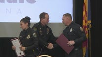 Police officer, off-duty fire captain honored for heroic work during Westgate shooting