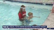 Aqua-Tots Swim School reopening for lessons