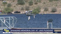 Spending Memorial Day at Lake Pleasant