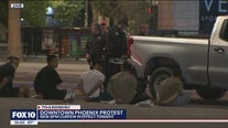 Police made arrests in Downtown Phoenix amid statewide curfew