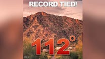 Phoenix ties 1910 record of 112 as heat wave hits Southwest