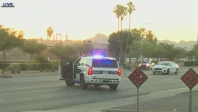 Busy Phoenix intersection closed due to fatal traffic collision