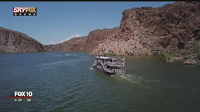 Drone Zone: Canyon Lake by boat