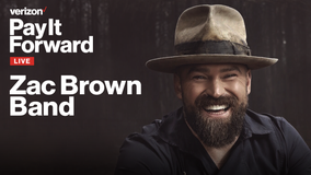 Zac Brown Band's livestreamed performance canceled due to production issue