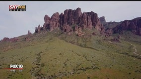 Drone Zone: Taking a look at Lost Dutchman State Park and its legend
