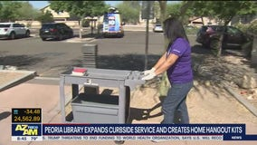 Peoria library expands curbside service, creates home hangout kits