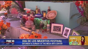 Olmost The Weekend: Mesa Arts Center gets ready for Dia De Los Muertos Festival