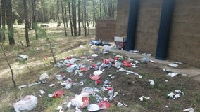 Apache-Sitgreaves National Forests see record amount of litter amid COVID-19