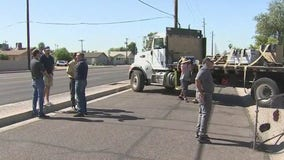 Home repair companies, City of Phoenix help rebuild resident's home after fire