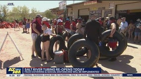 Salt River Tubing reopens with new safety measures