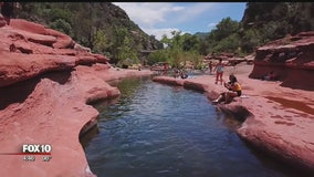 Drone Zone: Slide Rock State Park