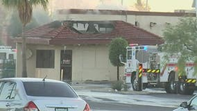 Firefighters gain control of fire at Mesa Sizzler restaurant