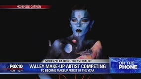Valley make-up artist competing to be makeup artist of the year