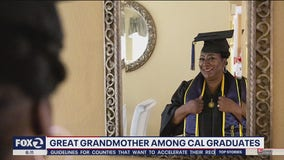 Class of 2020: Great grandmother graduates from Cal