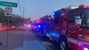 Family members poisoned by carbon monoxide in a Mesa garage, one becoming critically ill