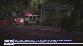 Police presence at Scottsdale Quarter amid rumors of potential protest