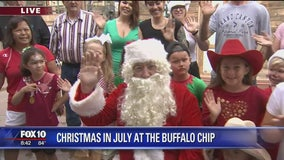Cory's Corner: Christmas in July at Buffalo Chip