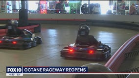 Octane Raceway in Scottsdale reopens for races