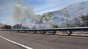 'Oak Fire' near major highways was human caused, authorities say