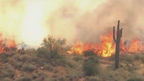 Evacuation orders prompted by East Desert Fire now lifted; fire 100% contained