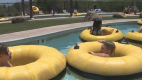 Chandler residents enjoy public pools to cool off during Memorial Day