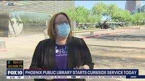 Phoenix Public Library begins curbside service