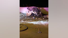 PD: 1 person hospitalized following rollover crash in Mesa