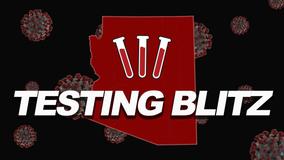 Gov. Ducey announces COVID-19 testing blitz in Arizona