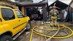 FD: Family displaced by wind-driven fire in west Phoenix
