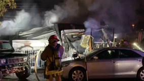 Woman's body found following Phoenix mobile home fire, investigation underway