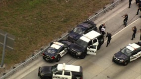 Florida woman arrested after leading police on high-speed chase; child pulled from car's back seat