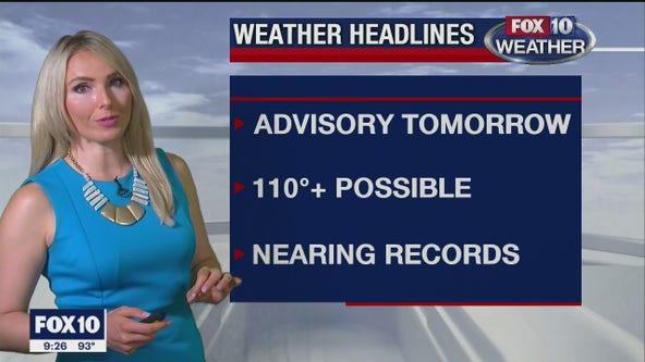 9 p.m. Weather Forecast 5/26/20
