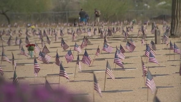 Remembering the fallen at National Memorial Cemetery in Arizona