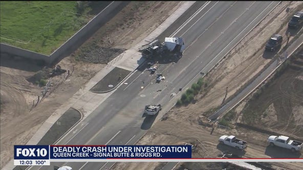MCSO: Driver hit, killed while standing outside of truck in Queen Creek