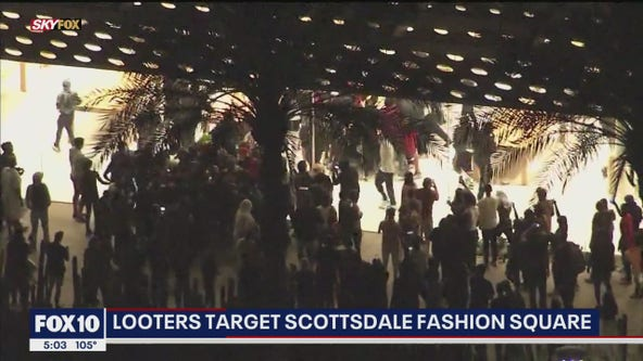 Scottsdale Police officials speak following looting, unrest Saturday night