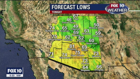 5 p.m. Weather Forecast - May 28, 2020