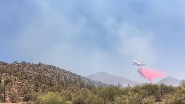 Arizona firefighters contain 150-acre fire in Pinal County at 75%