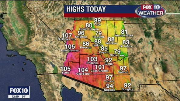 Noon Weather - 5/26/20