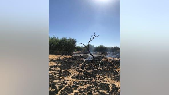 Arizona fire crews responding to 48-acre fire near Buckeye
