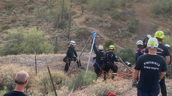 Fire officials show off team, equipment used in mine shaft rescue