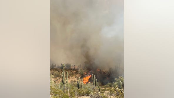 Range Fire in Pinal County burns nearly 3,300 acres