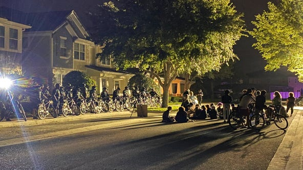 Protesters remain at Orlando-area home owned by officer connected to George Floyd's death
