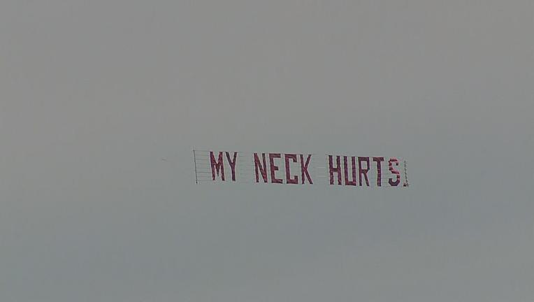 My Neck hurts Dallas George Floyd Protest