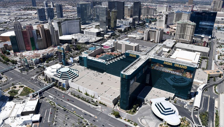 Las Vegas Remains Closed As Memorial Day Weekend Approaches Amid COVID-19 Pandemic