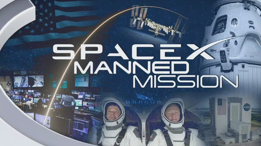 Final preparations being made for first manned mission to space in nearly 10 years