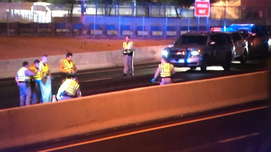 One pedestrian dead, another seriously injured in I-17 accident